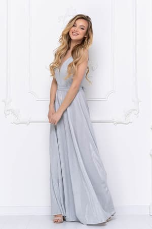Вечернее платье из сверкающей ткани, фото 5
