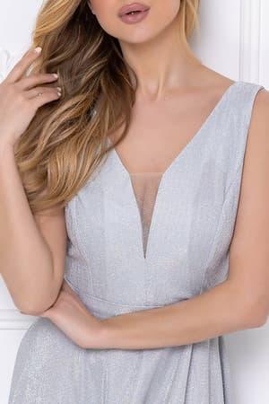 Вечернее платье из сверкающей ткани, фото 6