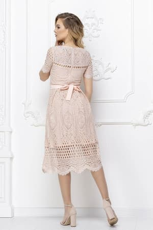 Повседневное платье из гипюра, фото 2