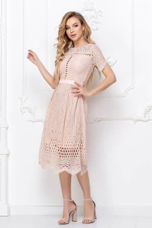 Повседневное платье из гипюра, фото 3
