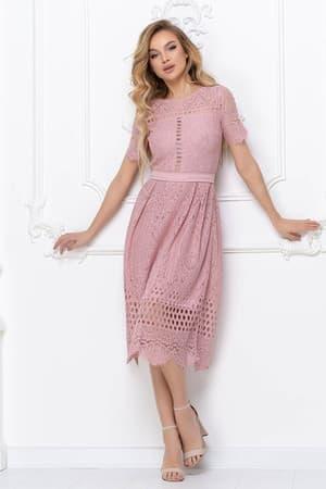 Повседневное платье из гипюра, фото 4
