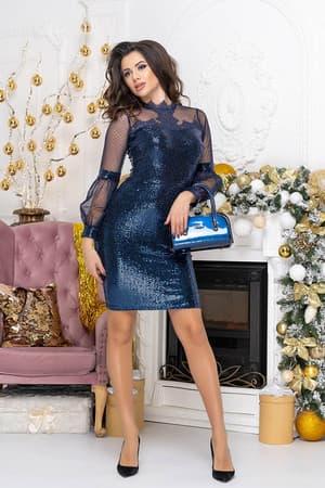Коктейльное платье 9219e, фото 6