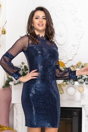Коктейльное платье 9219e, фото 7