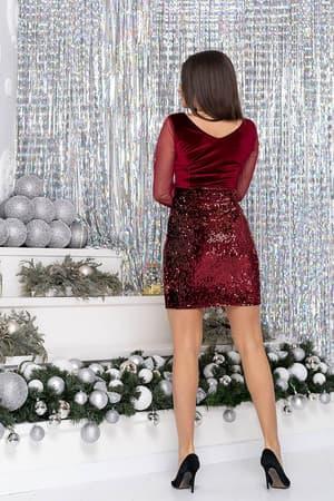 Коктейльное платье 9243e, фото 2