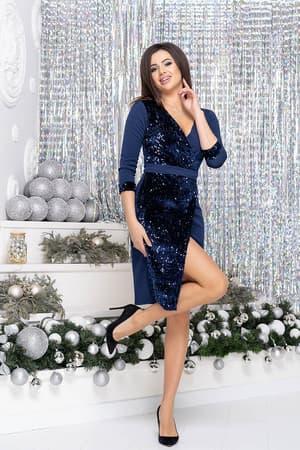 Коктейльное платье 9250e, фото 3