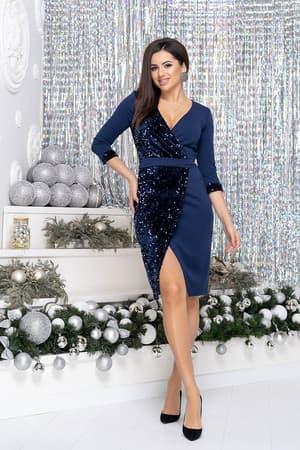 Коктейльное платье 9250e, фото 5
