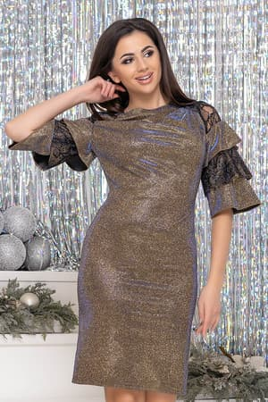 Коктейльное платье 9261e, фото 1