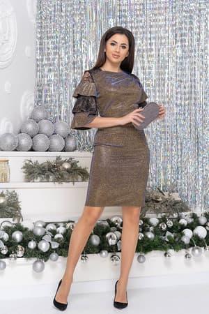 Коктейльное платье 9261e, фото 2