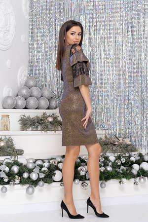 Коктейльное платье 9261e, фото 3