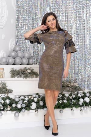 Коктейльное платье 9261e, фото 4