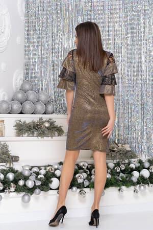 Коктейльное платье 9261e, фото 5