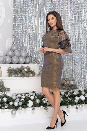 Коктейльное платье 9261e, фото 6