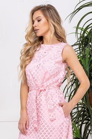 Повседневное платье с прозрачными вставками, фото 5