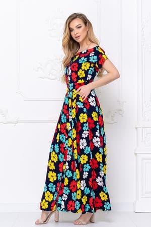 Повседневное платье 5143e, фото 3