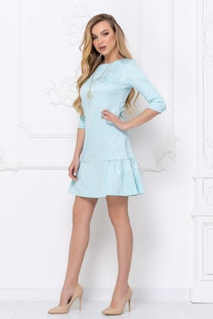 Повседневное платье 7018e, фото 4
