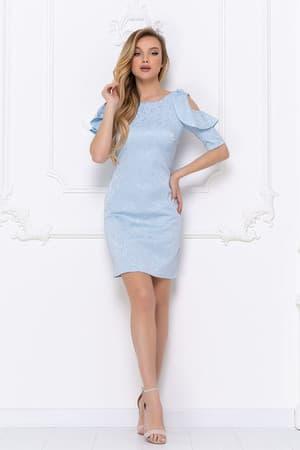 Повседневное платье 7020e, фото 2