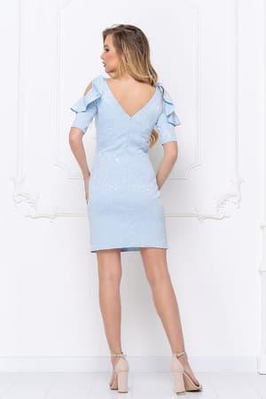 Повседневное платье 7020e, фото 4