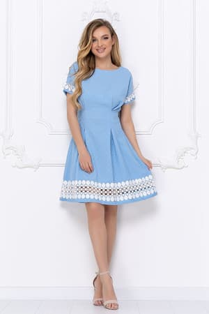 Повседневное платье 7057e, фото 1