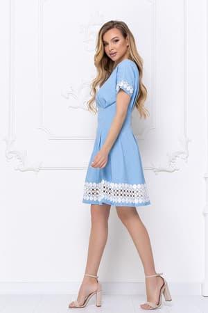 Повседневное платье 7057e, фото 4