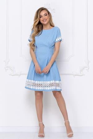 Повседневное платье 7057e, фото 6