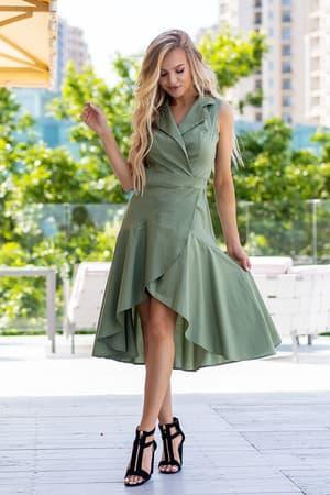Повседневное платье 20105e, фото 5