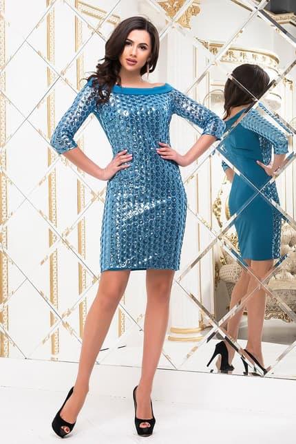 Коктейльное платье 6280e, image 1