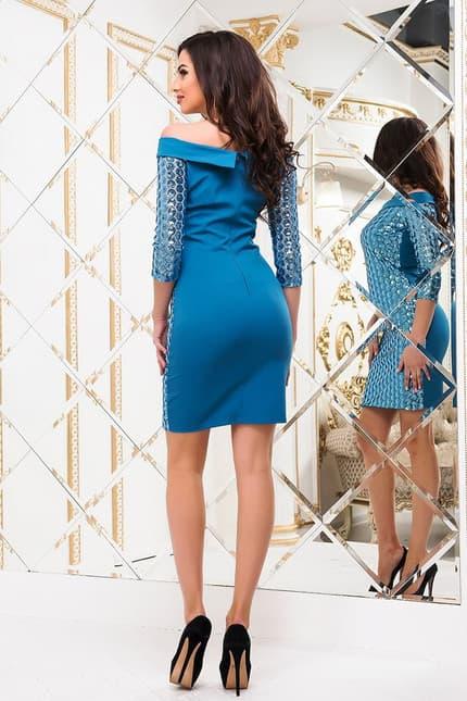 Коктейльное платье 6280e, image 3