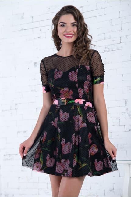 Коктейльное платье 7050e, image 1