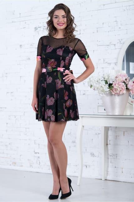 Коктейльное платье 7050e, image 2