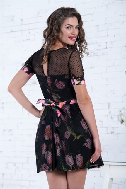 Коктейльное платье 7050e, image 3