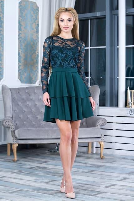 Коктейльное платье 7263e, фото 1