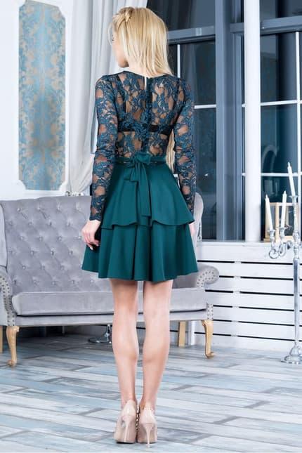 Коктейльное платье 7263e, фото 2