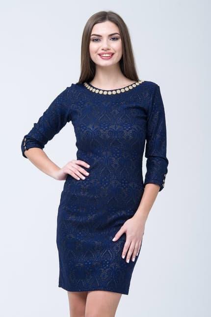 Коктейльное платье 7283e, фото 1