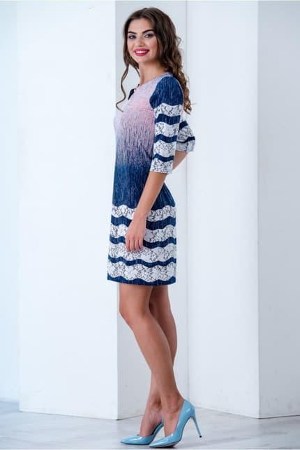 Повседневное платье 6181e, image 2
