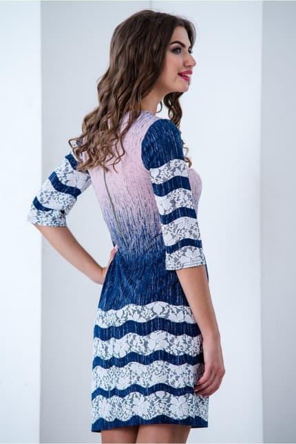 Повседневное платье 6181e, image 3