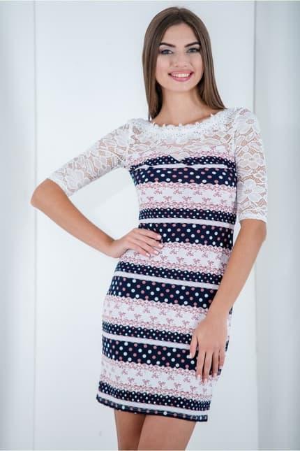 Повседневное платье 6195e, фото 1