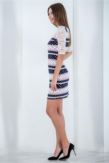 Повседневное платье 6195e, фото 2