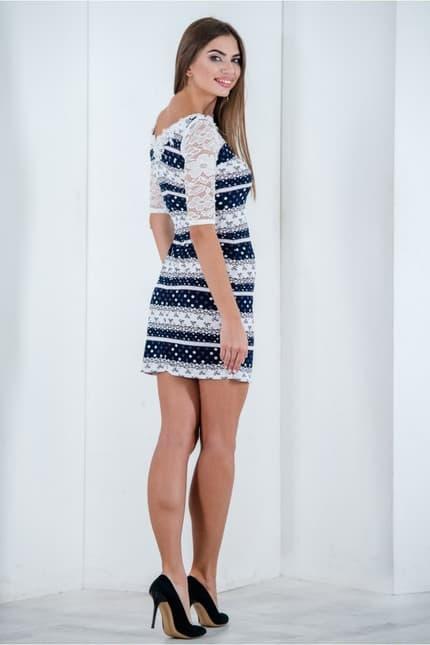 Повседневное платье 6195e, фото 3