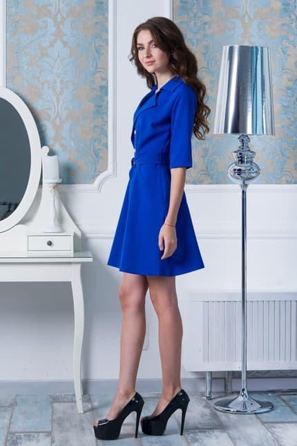 Повседневное платье 7204e, image 2