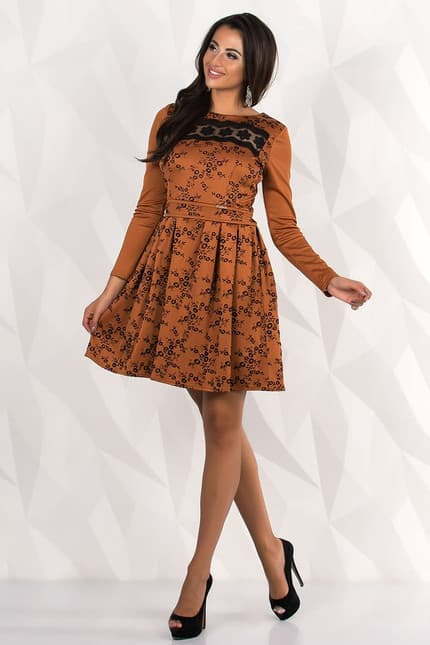Повседневное платье 7238e, фото 1