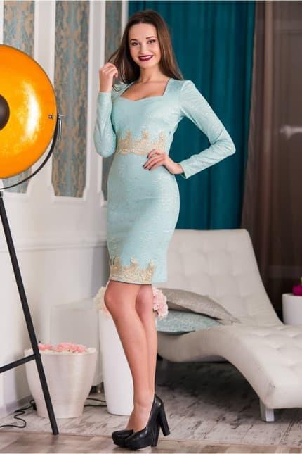 Коктейльное платье 5340e, фото 2