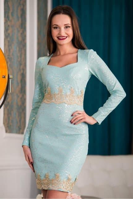 Коктейльное платье 5340e, фото 4