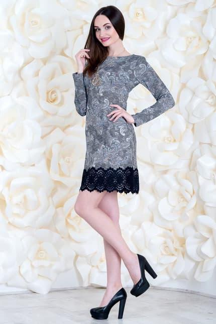 Коктейльное платье 6260e, image 1