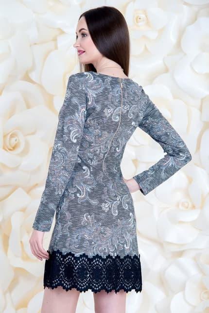 Коктейльное платье 6260e, image 2