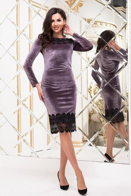 Коктейльное платье 6294e, фото 1