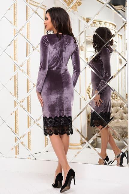 Коктейльное платье 6294e, фото 3
