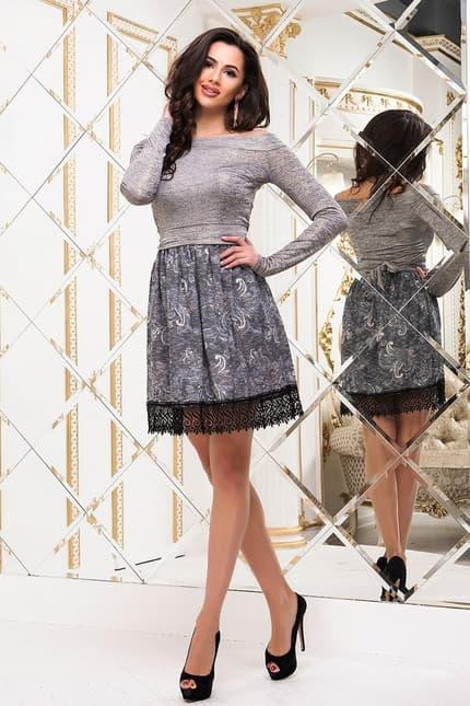 Коктейльное платье 6334e, фото 1