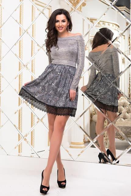 Коктейльное платье 6334e, фото 2