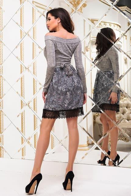 Коктейльное платье 6334e, фото 3