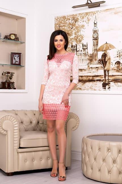 Коктейльное платье 7021e, фото 1